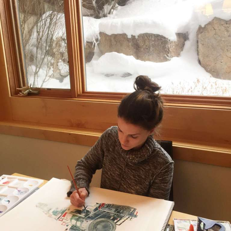 Hoboken Girl of the Week: Morgan McCue of Little Sister Studios