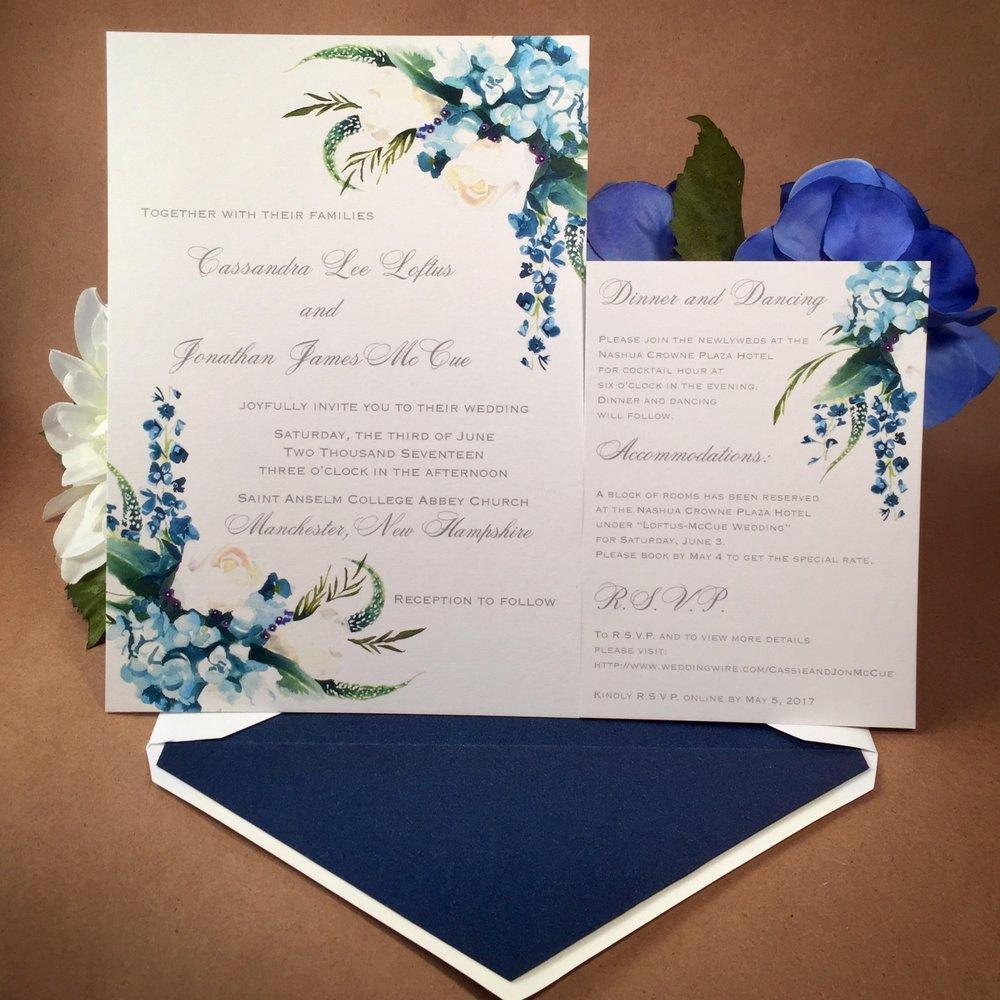 Blue Hydrangea Summer suite