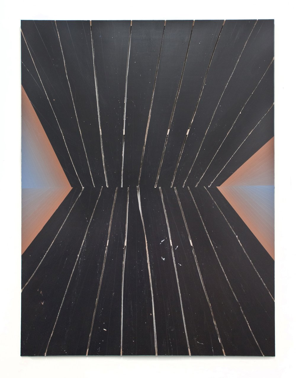 Untitled  Acrylic on panel  64 x 48 in  2012