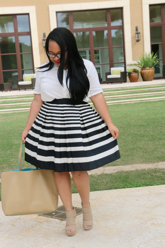 full_horizontal_stripe_skirt_belle_jheanell