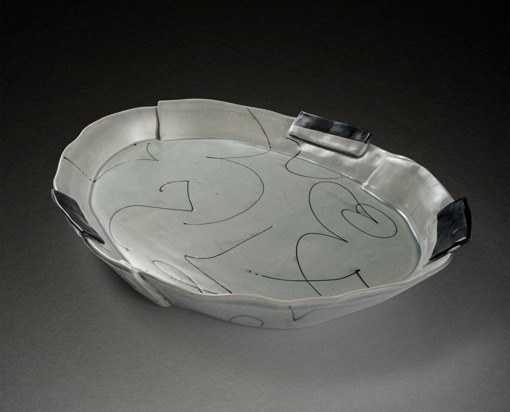 Blue/Gray Platter