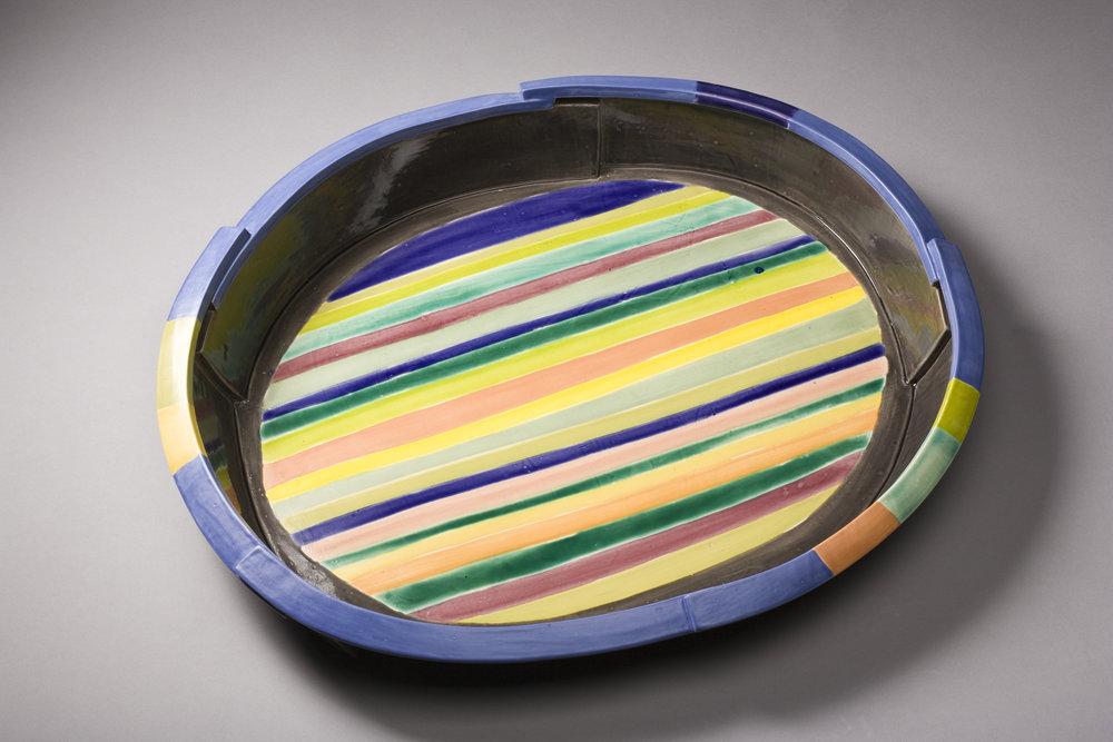 Striped Platter