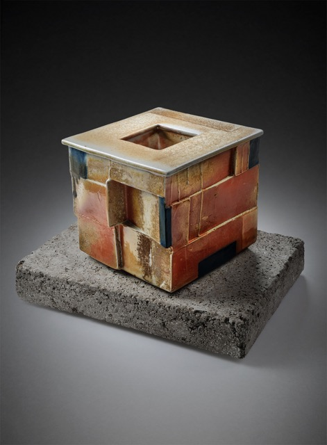Wood Fired Box on Cement Base
