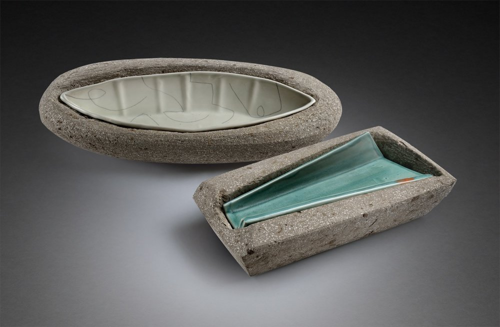 Troughs in Cement