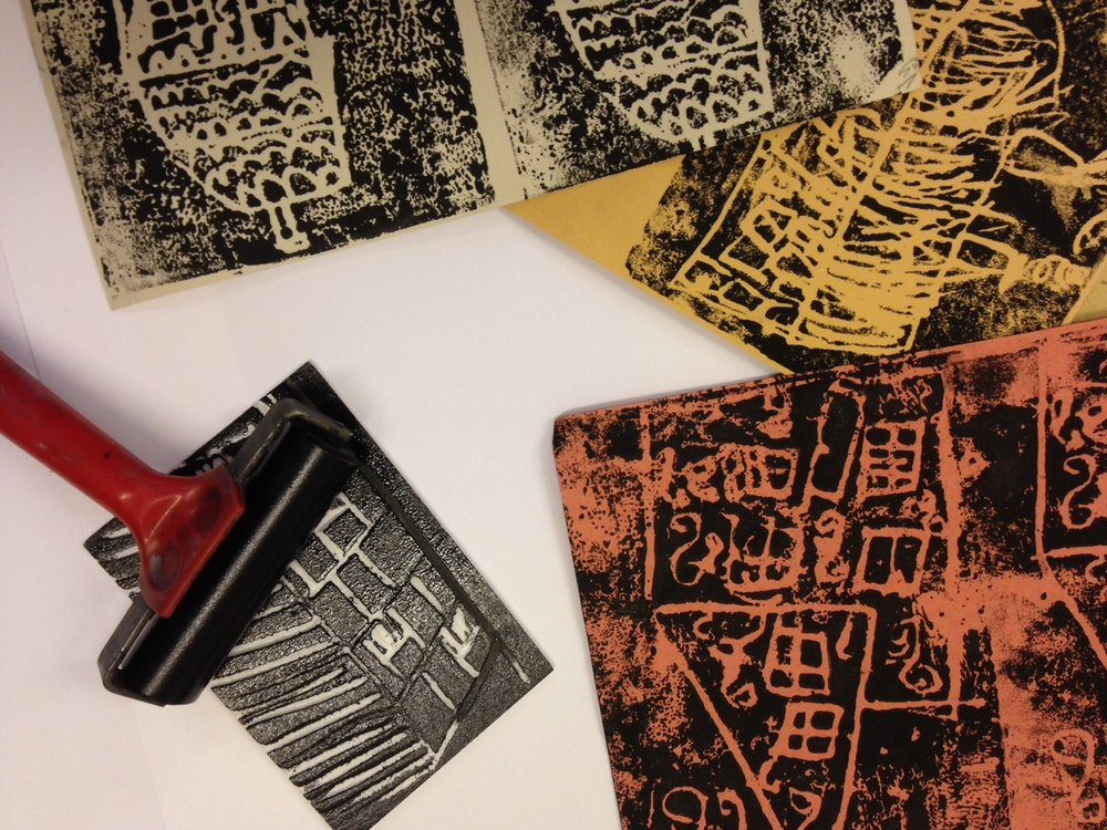 Relief Printing with Anne Norfield