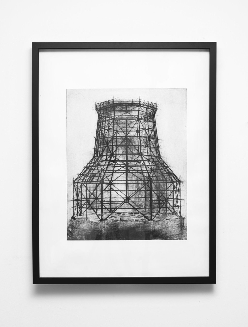 Cooling Tower Drypoint