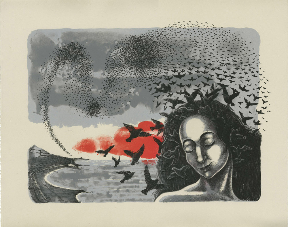 Rhiannon's Dream   Lithograph