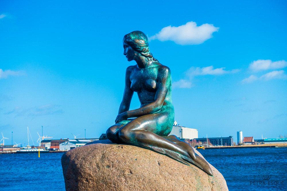 The Little Mermaid, Copenhagen, Denmark.
