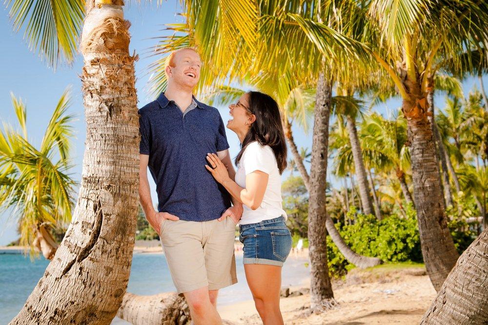 engagement portrait honolulu hawaii