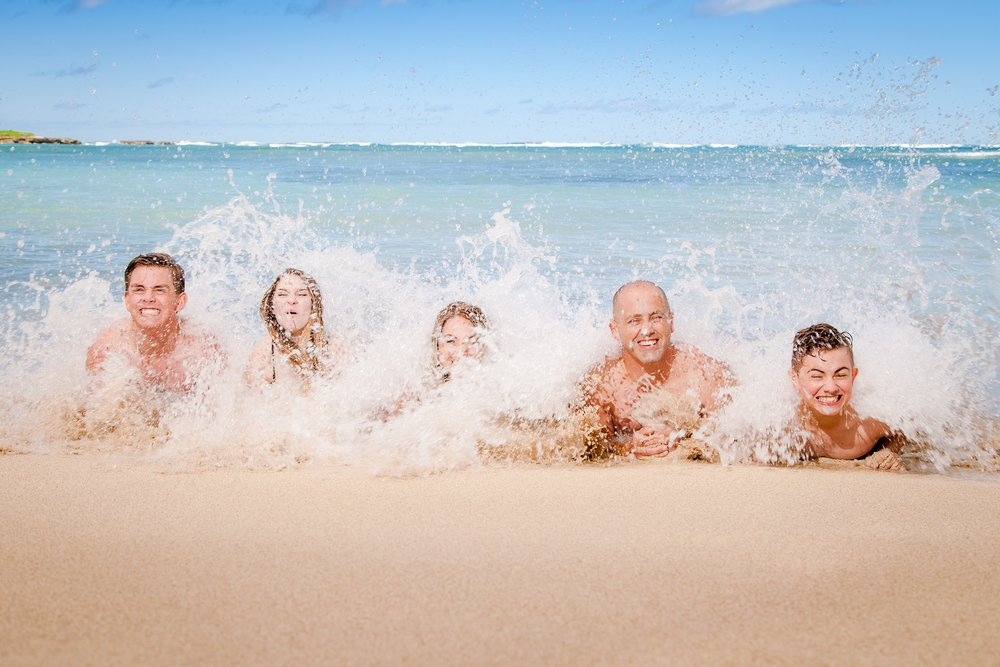 family photographer in oahu hawaii