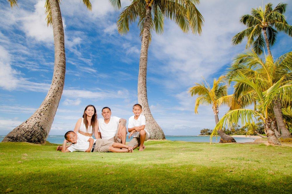 family portrait photographer oahu hawaii