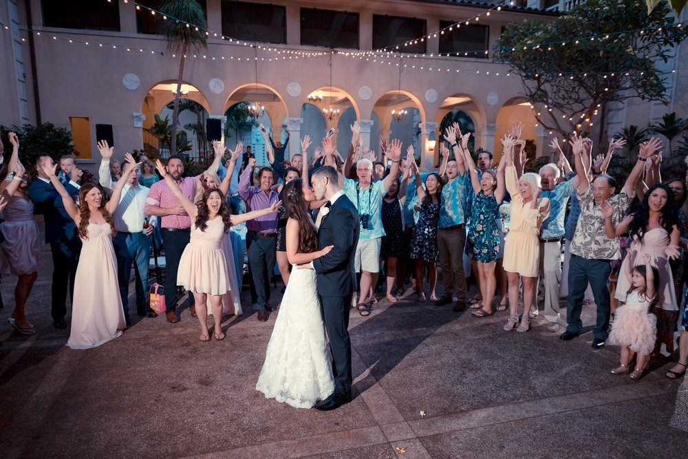 first dance wedding reception celebration photographer