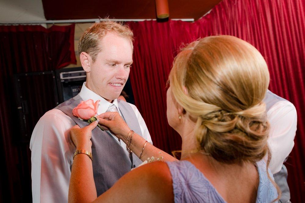 groom getting ready wedding day oahu hawaii