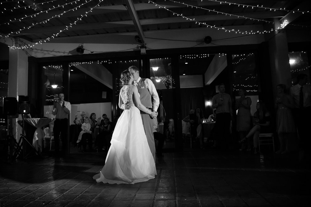 just married first dance wedding reception