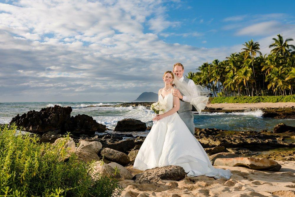 destination beach wedding ko olina oahu