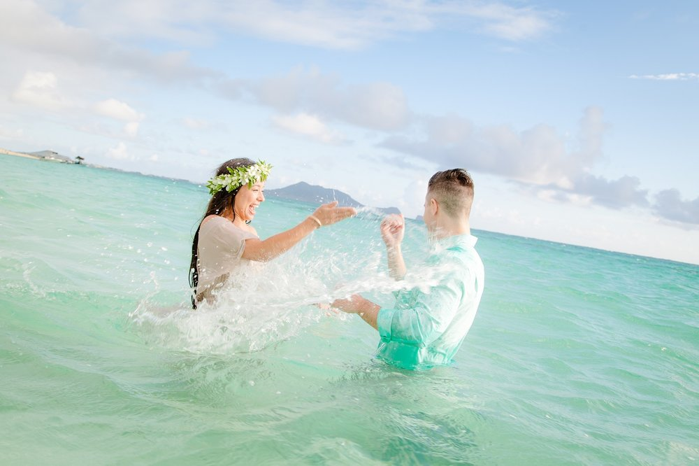 couples proposal engagement photography hawaii