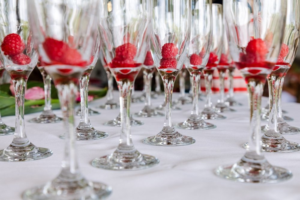 wedding details glassware honolulu hawaii