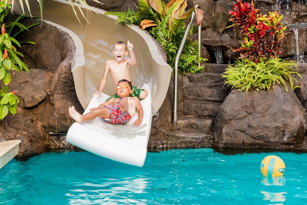 kids pool play oahu hawaii