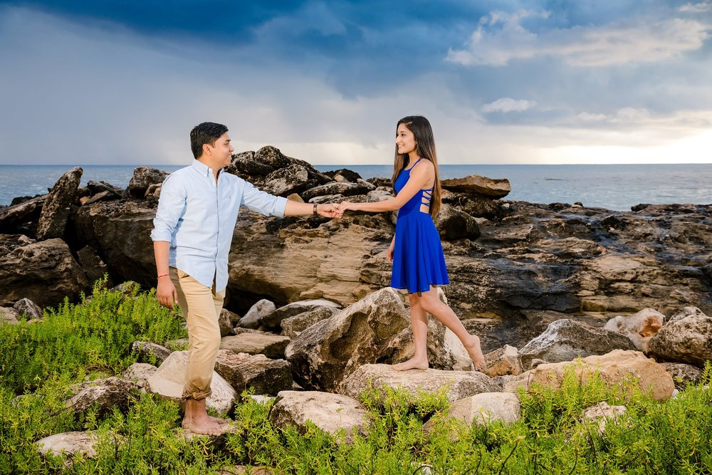 surprise proposal photographer hawaii