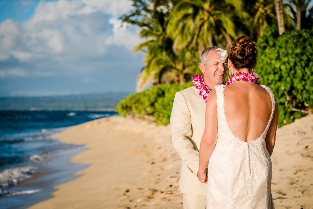 north shore oahu beach wedding