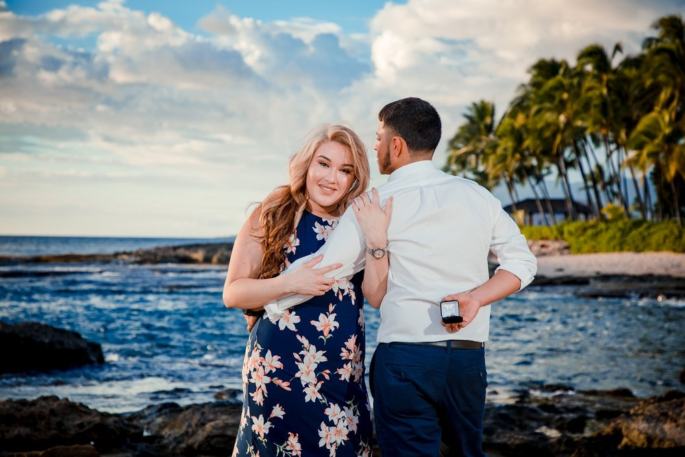secret surprise engagement proposal hawaii
