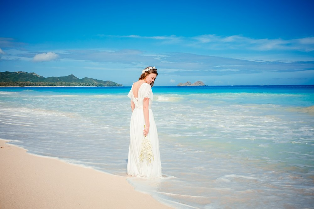 waimanalo beach wedding oahu hawaii