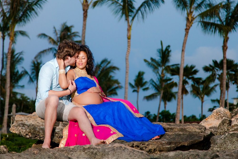 ko olina four seasons resort oahu maternity photographer