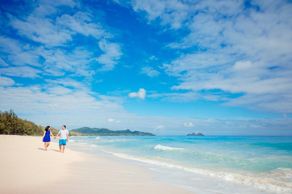 couples wedding anniversary beach portrait