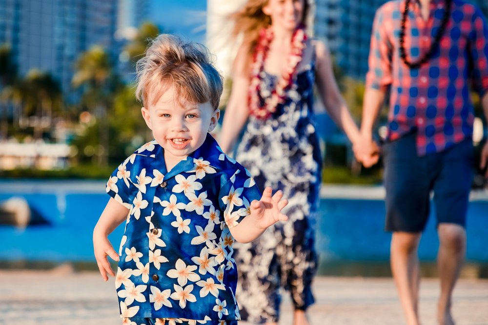 hawaiian hilton village waikiki childrens beach photographer