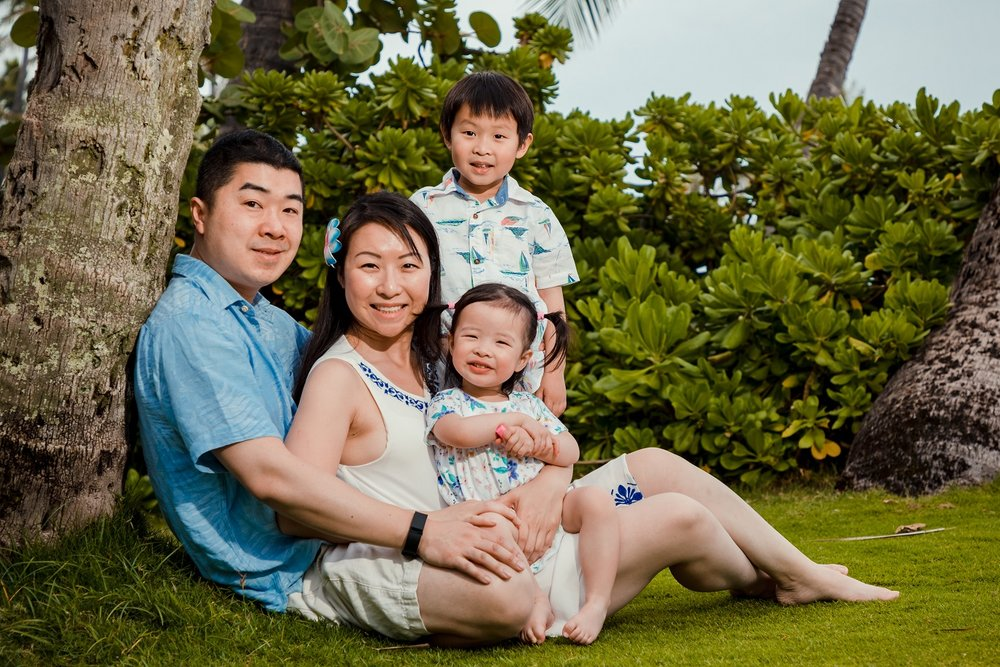 oahu family portrait photographer