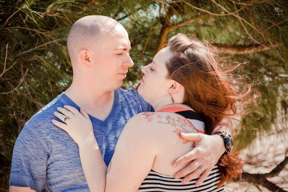 couples romantic engagement  photographer oahu