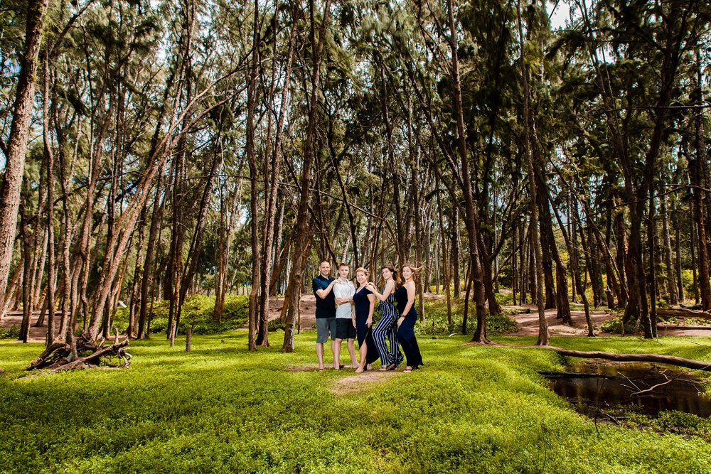 family photos sherwood forest waimanalo oahu