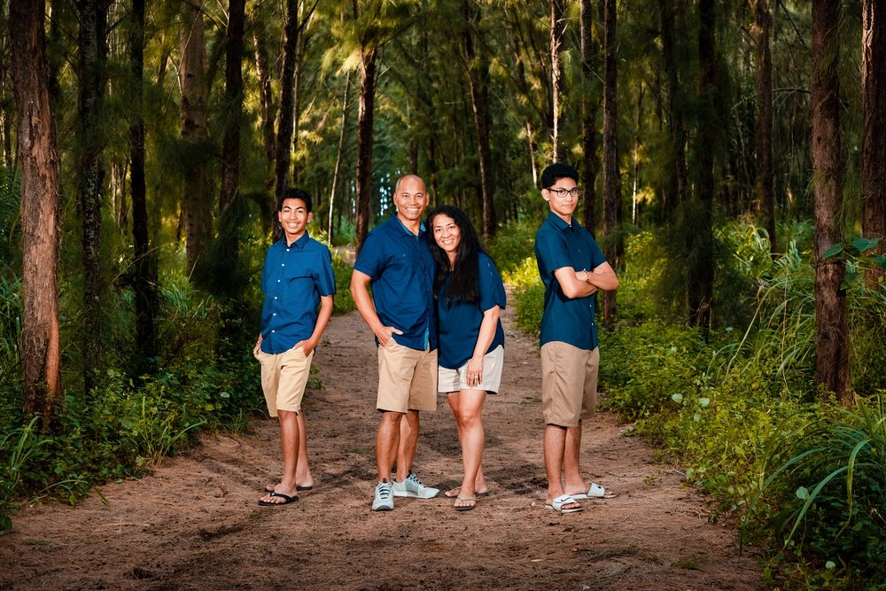 turtle bay family photographer