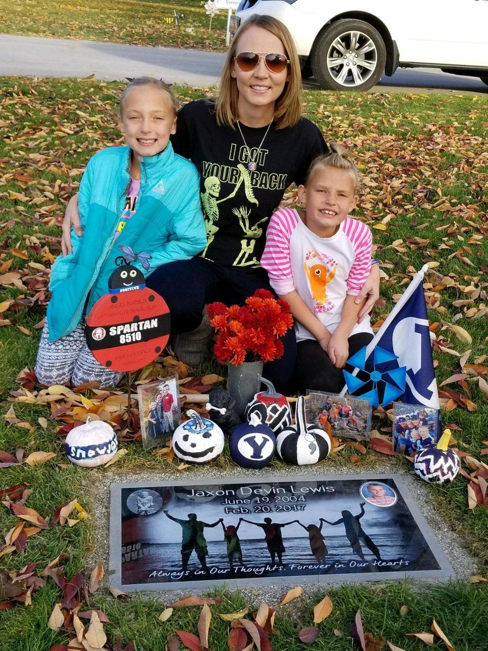 family memorial photo