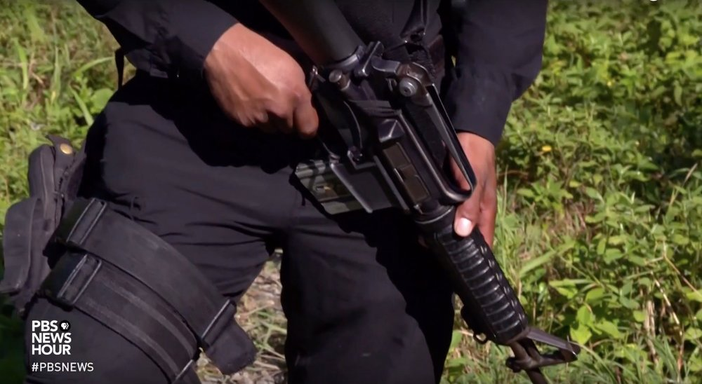 Central American Migrants Fear Gangs, Police, en route to US - PBS NEWSHOURSpecial Correspondent