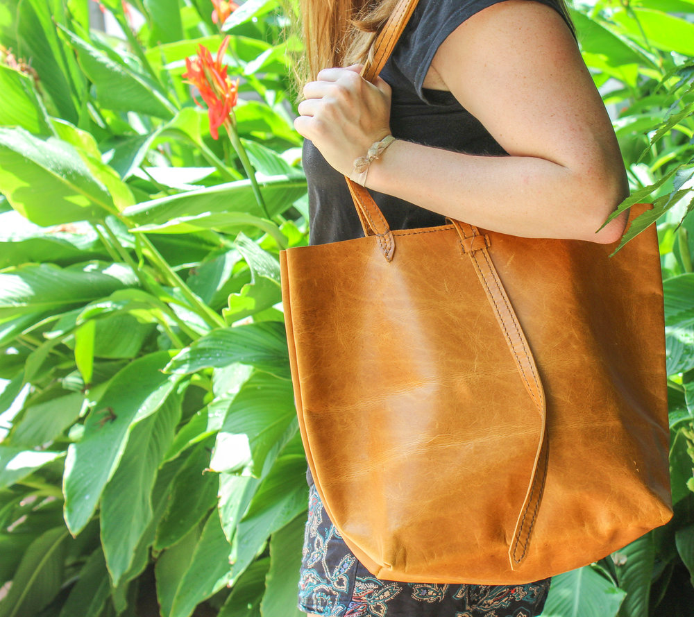 Made in Haiti Leather Bags