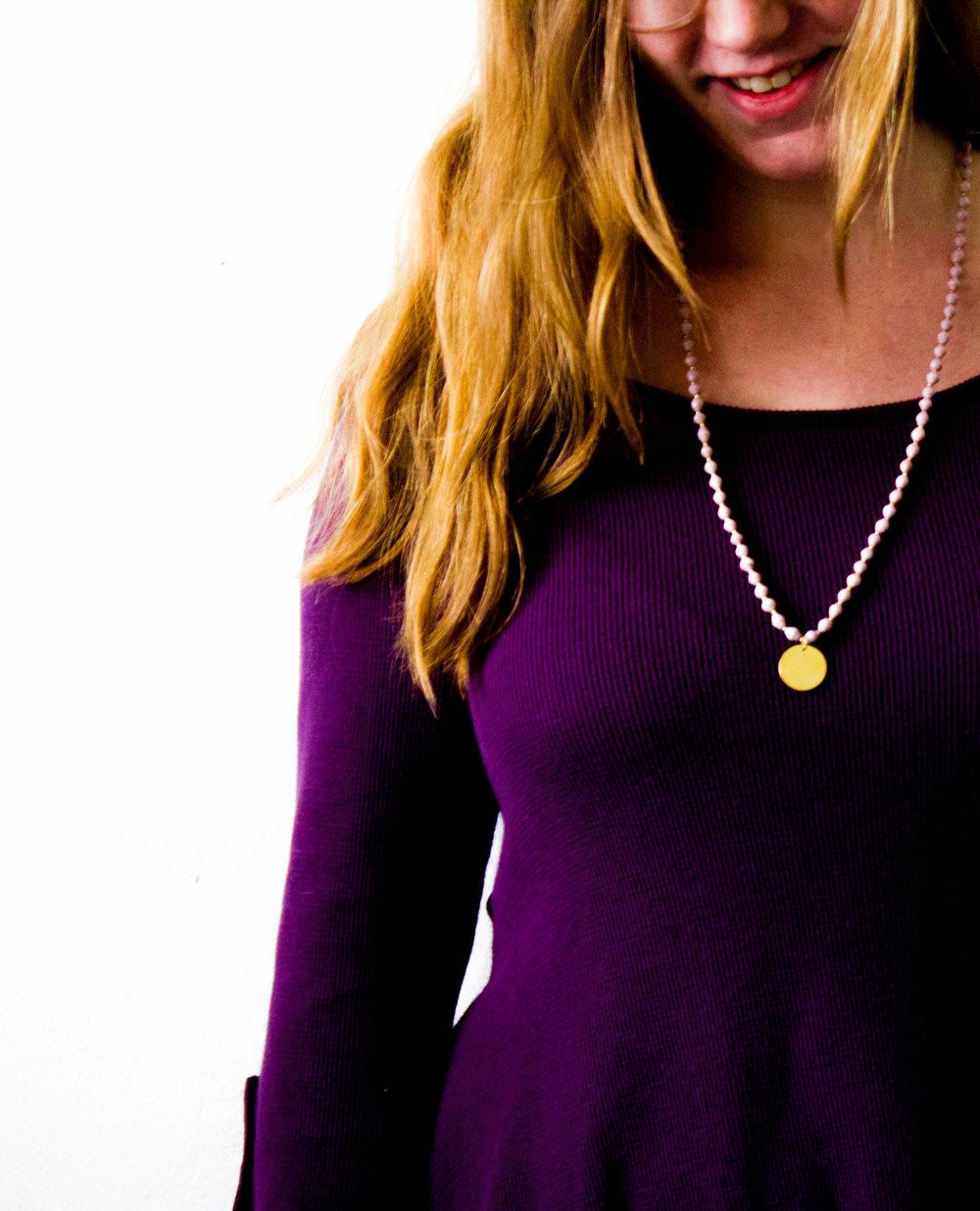 The Eden Necklace by Landmine Design