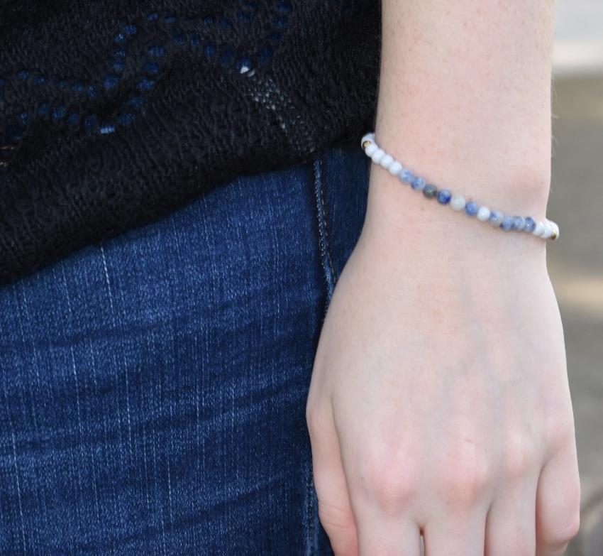 Morse Code Hope Bracelet
