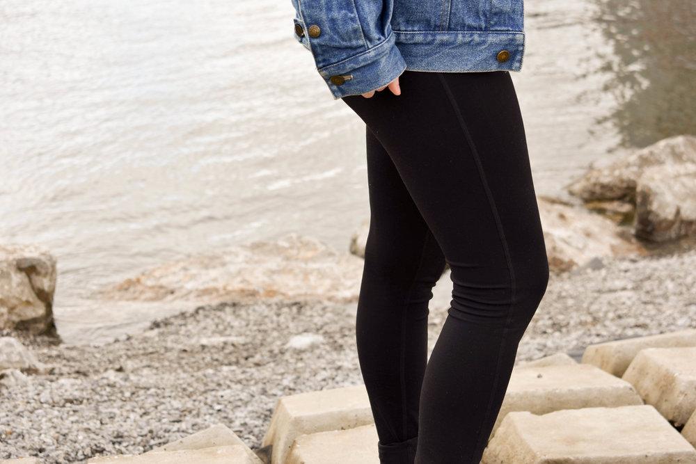 ethically made leggings from haiti