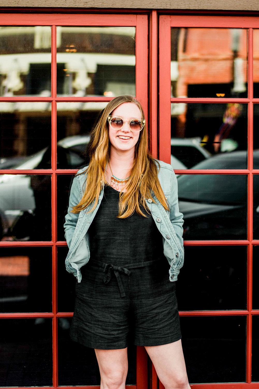 PC:   Sarah Prabhakar  Romper:   The Fabric Social