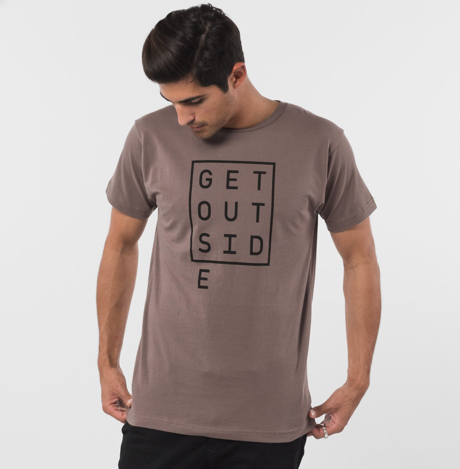 organic cotton men's tee