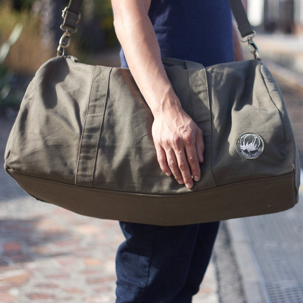 fair trade duffel bag