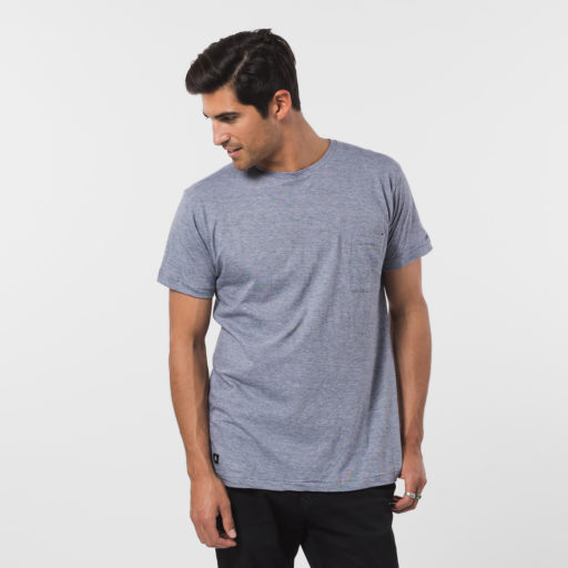 ethically made men's cotton crew neck tee