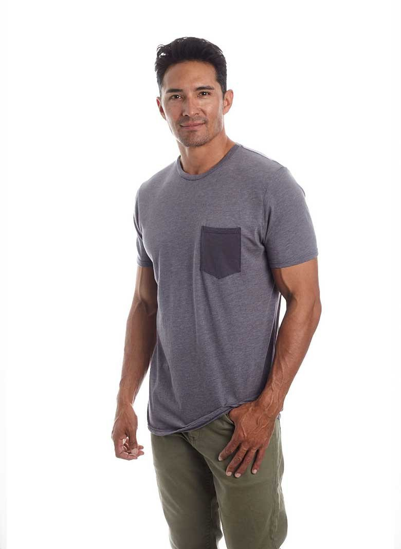 organic cotton tee men