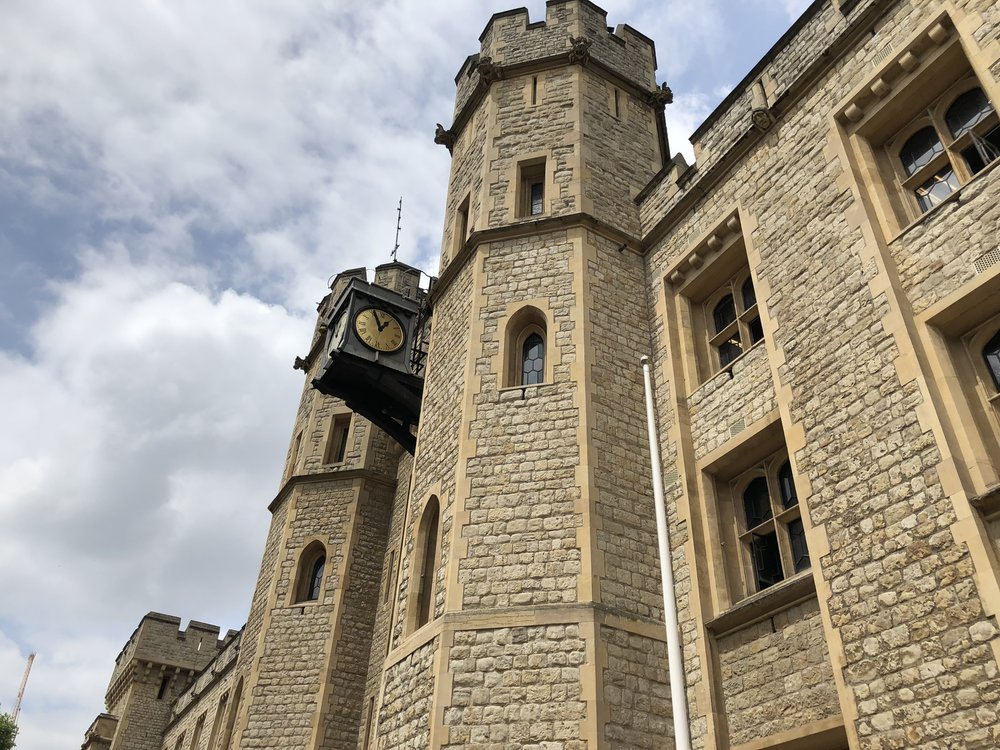 tower of london traveling with anxiety