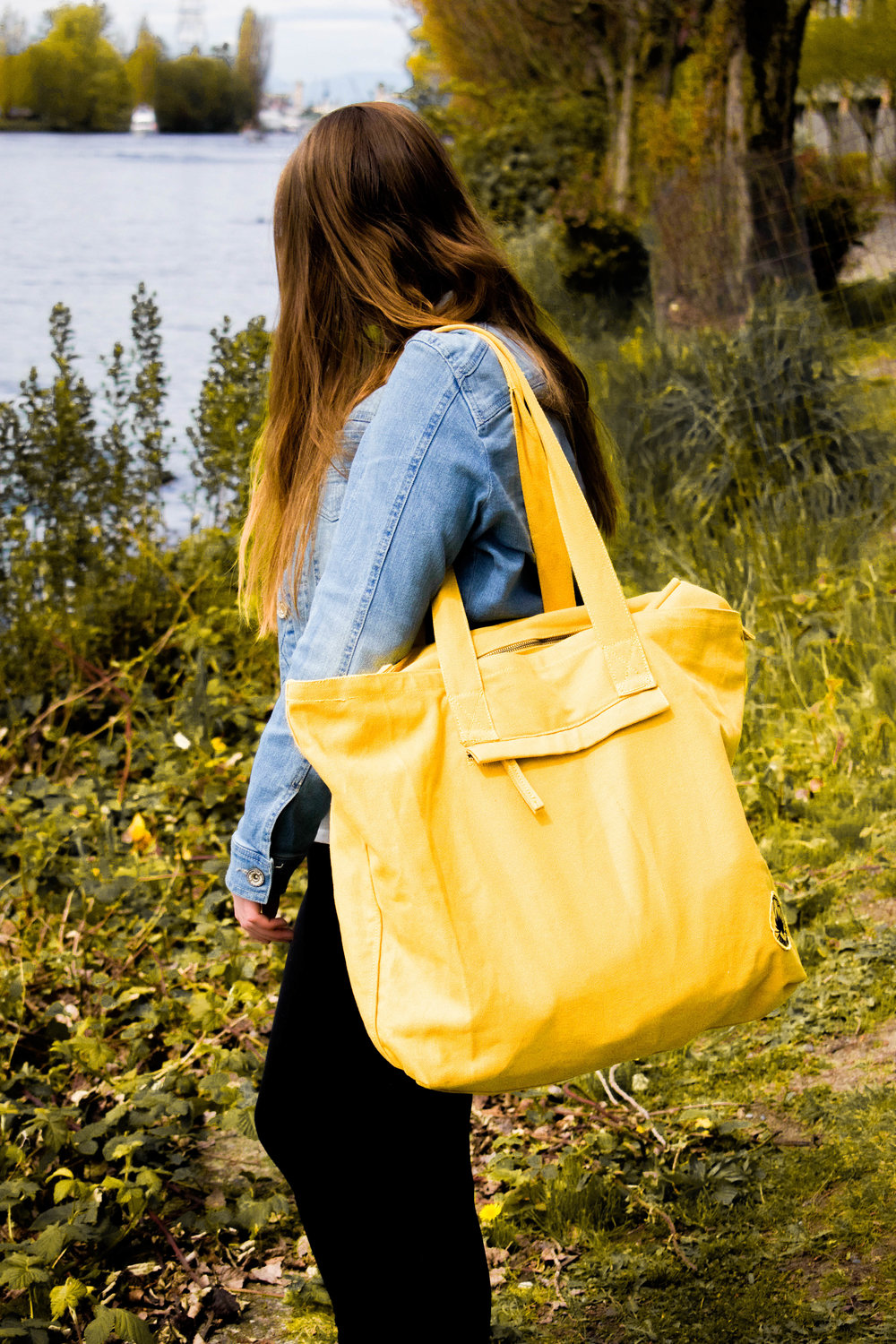 fair trade organic tote bag for ethical style