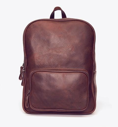 High End Leather Backpack