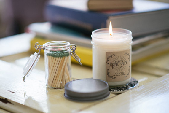 Holiday Candles That Give Back