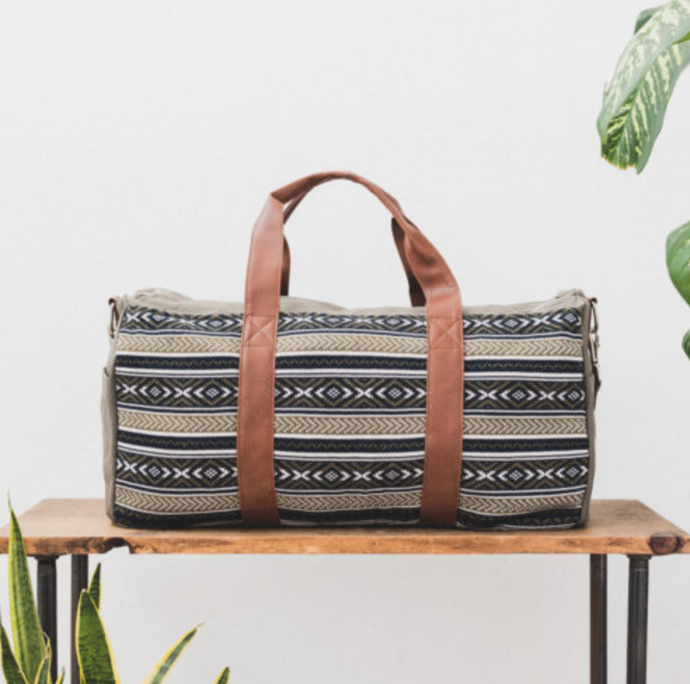 Ethically Made Duffel Bag