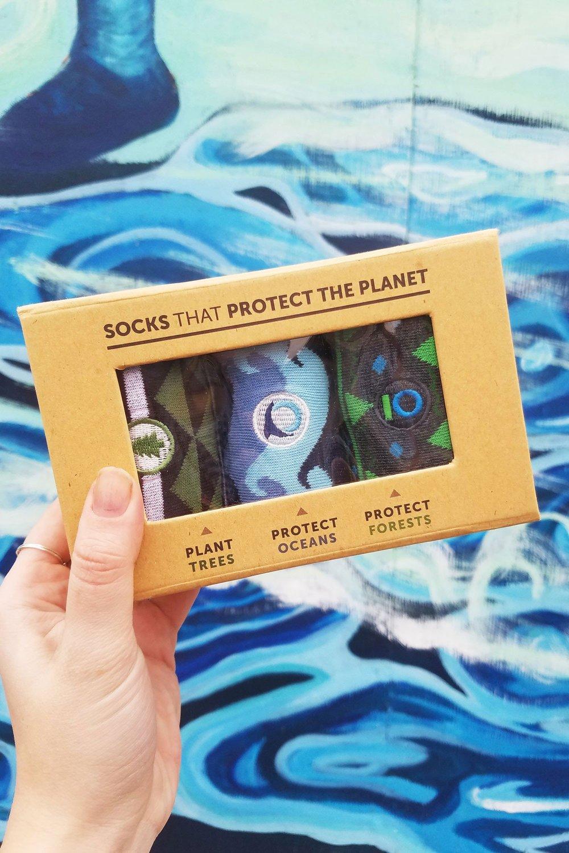 Socks that give back